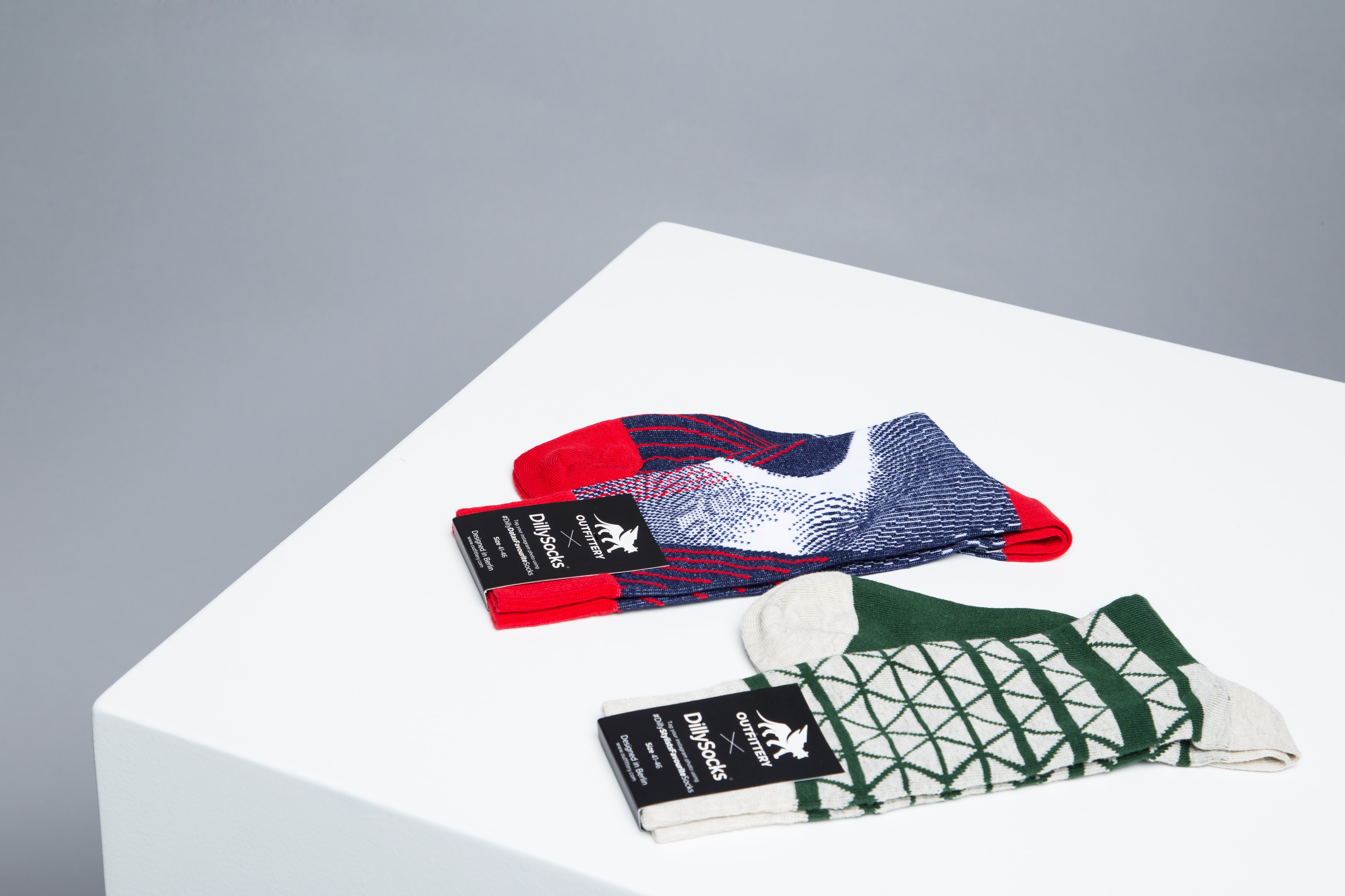 OUTFITTERY launcht besondere Sockenkollektion mit Dilly Socks